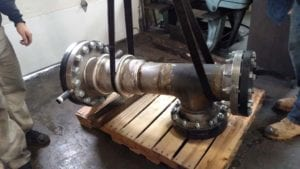 Rocket engine test equipment